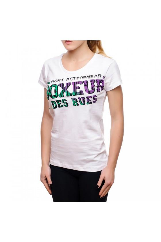Женская футболка с принтом...
