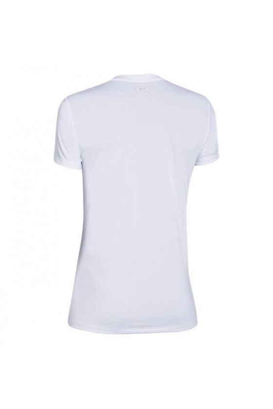 Жіноча футболка з v-подібним коміром біла