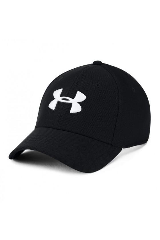 Бейсболка чорна з білим логотипом