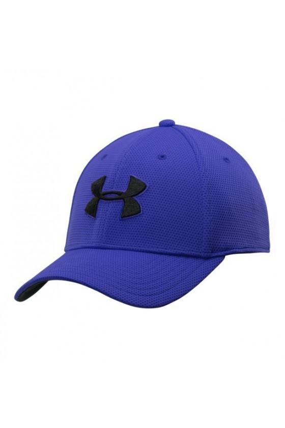 Бейсболка яскраво-синя