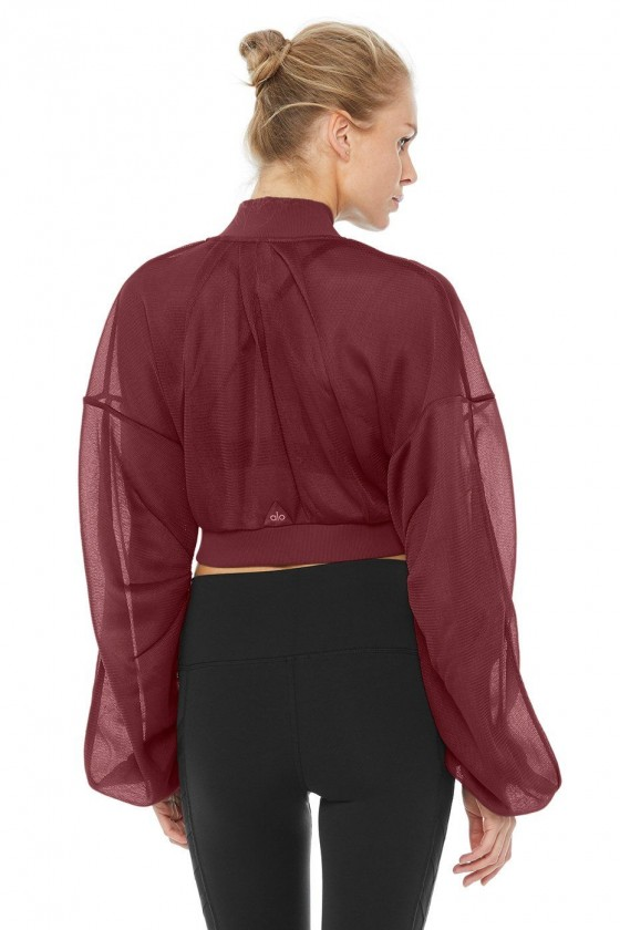 Женская курточка Field Crop темно-вишневая
