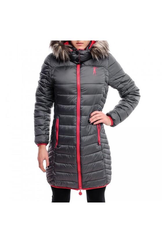 Жіноче пальто антрацит