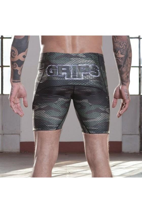Компрессионные шорты Grips Camo Snake