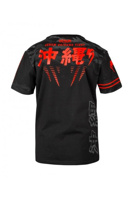 Дитяча футболка Venum Okinawa 2.0 Black / Red