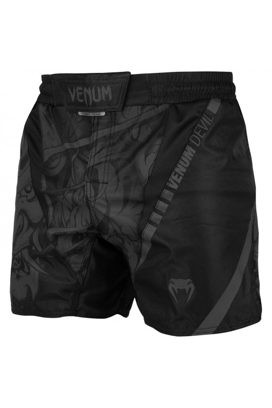 Шорты MMA Venum Devil Black/Black