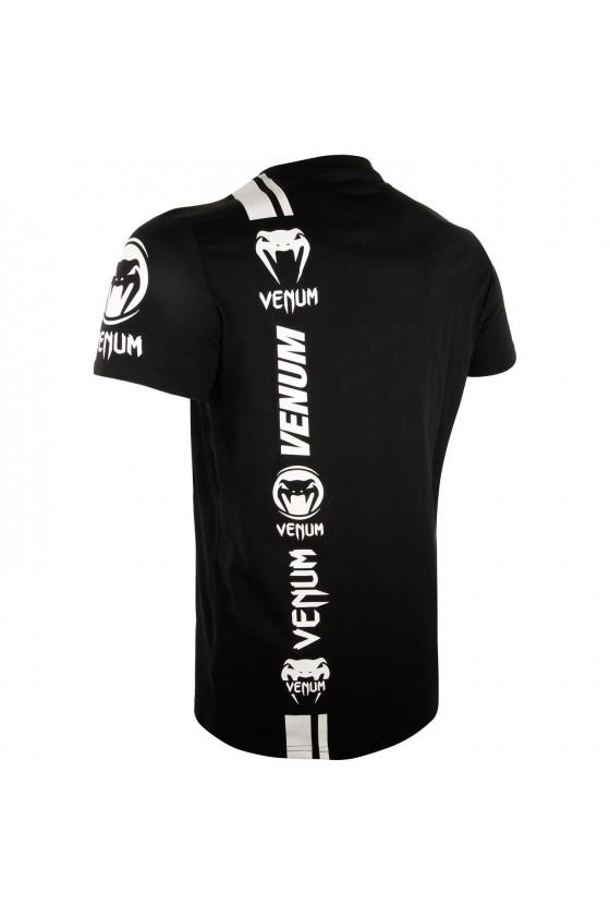 Футболка Venum Logos Black / White