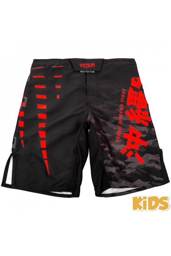 Дитячі шорти MMA Venum Okinawa 2.0 Black / Red