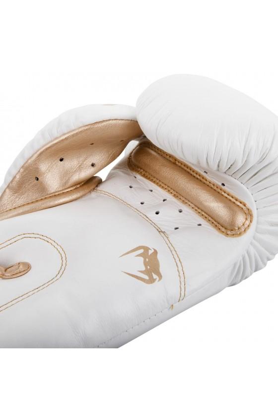 Боксерські рукавички Venum Giant 3.0 Nappa Leather White / Gold