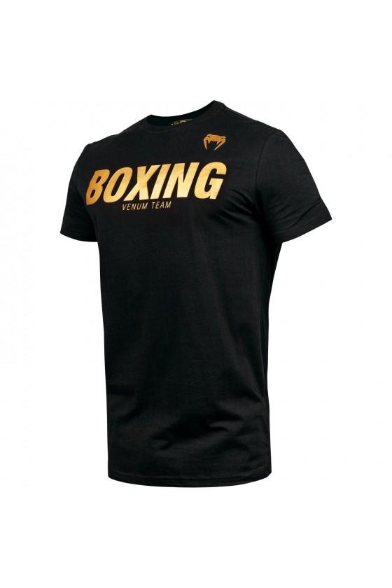 Футболка Venum Boxing VT Black/Gold