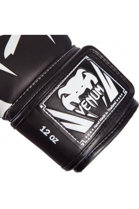 Боксерські рукавички Venum Elite Black / White