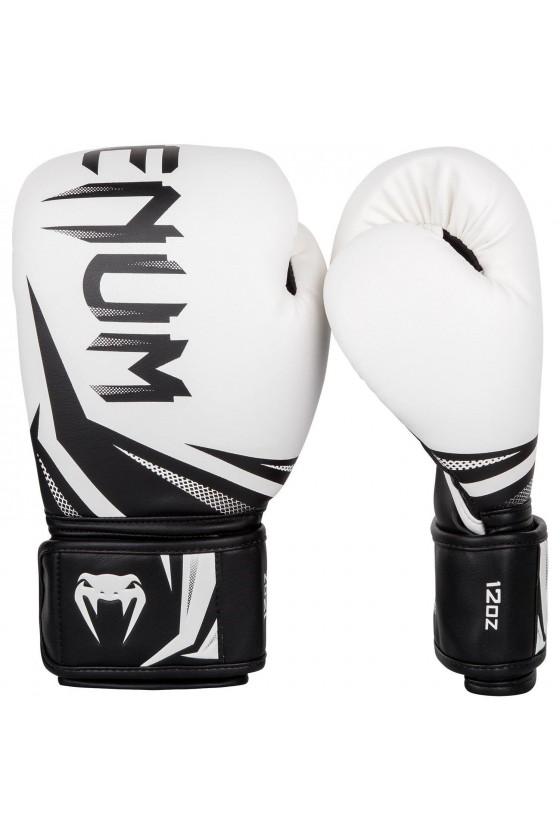 Боксерские перчатки Venum Challenger 3.0 White/Black