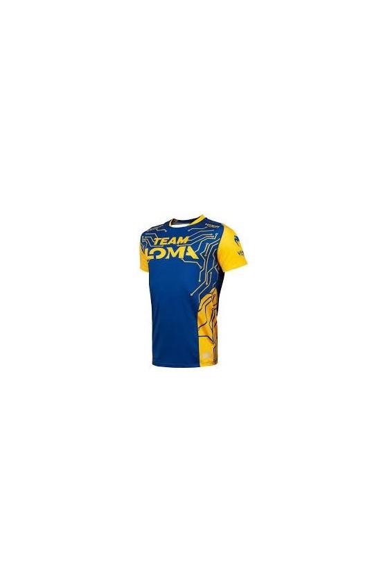 Футболка Loma Fight DryTech Blue/Yellow