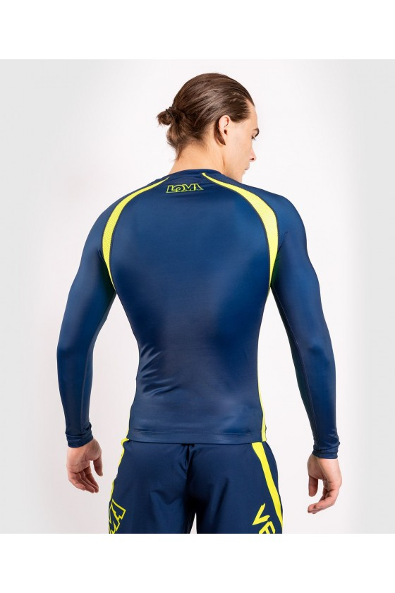 Рашгард Venum Loma ORIGINS Blue / Yellow