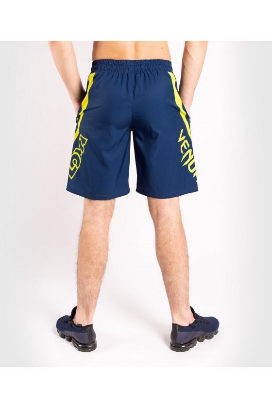 Тренировочные шорты Venum Loma ORIGINS Blue/Yellow