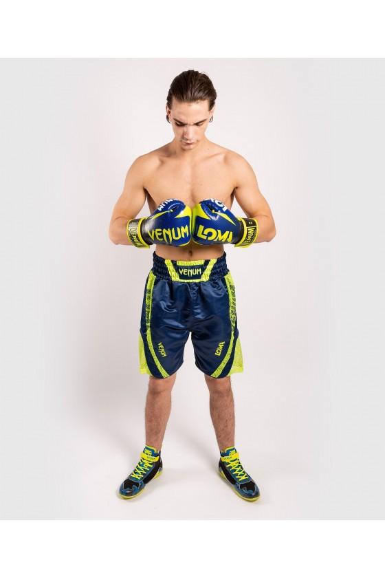 Боксерские шорты Venum Loma ORIGINS Blue/Yellow