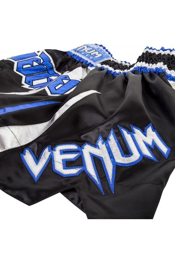 Шорти для тайського боксу venum BLUE SILVER